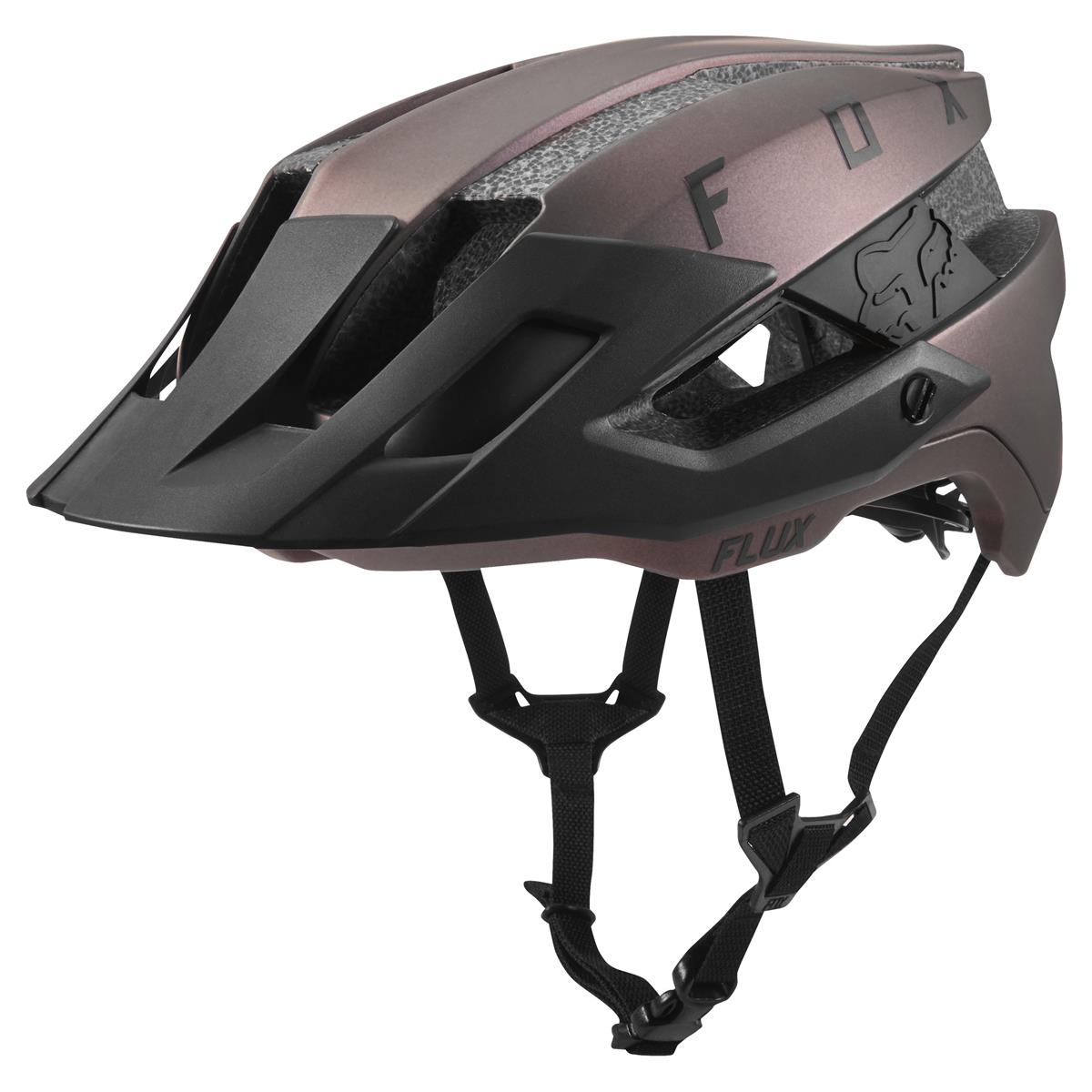 Fox Trail-MTB Helm Flux Solid - Black Iridium