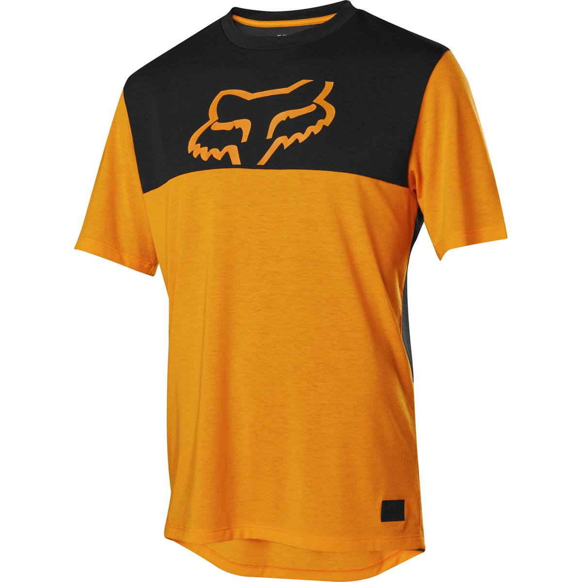 Fox Trail-Jersey Kurzarm Ranger Dri-Release Atomic Orange