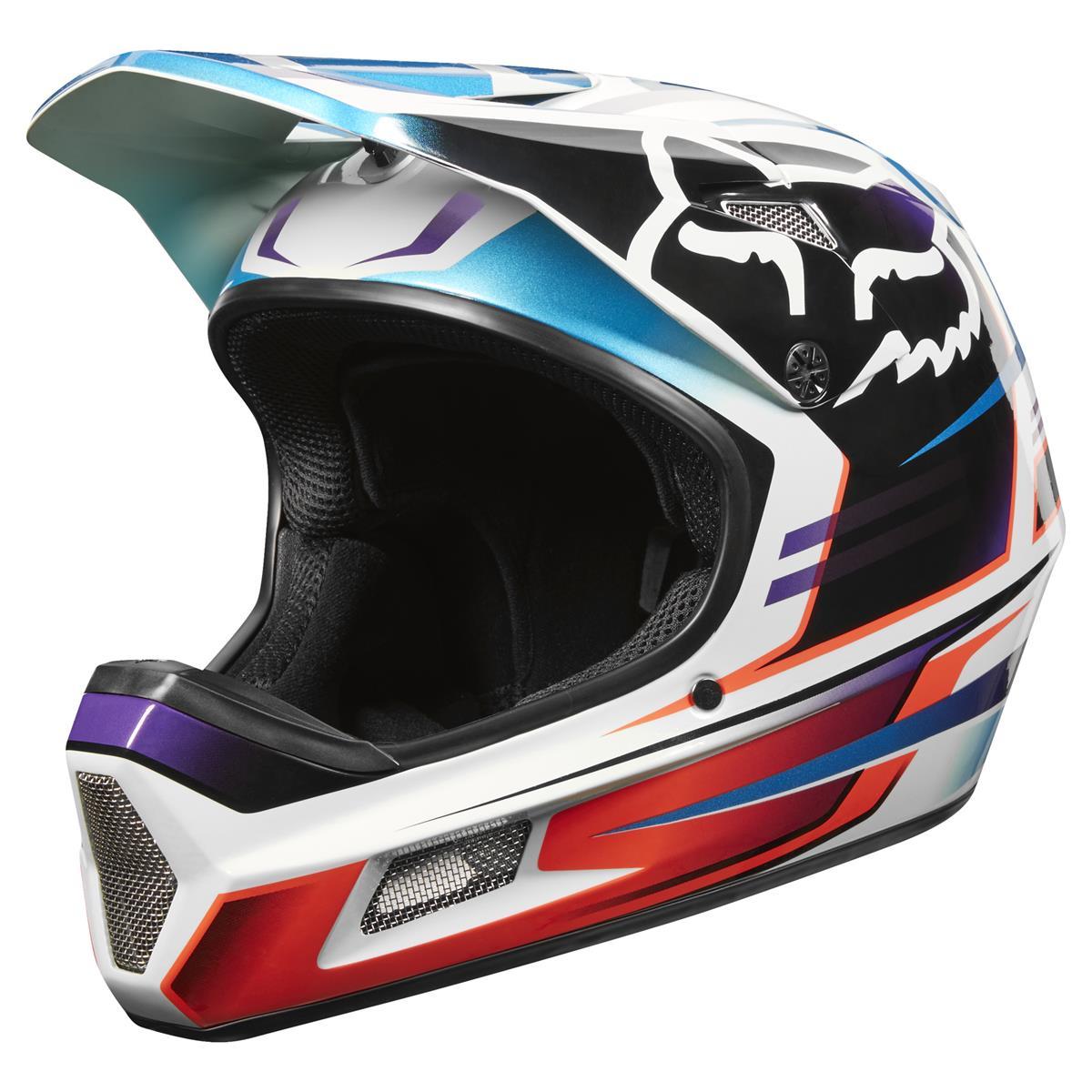 Fox Downhill-MTB Helm Rampage Comp Reno - Ice