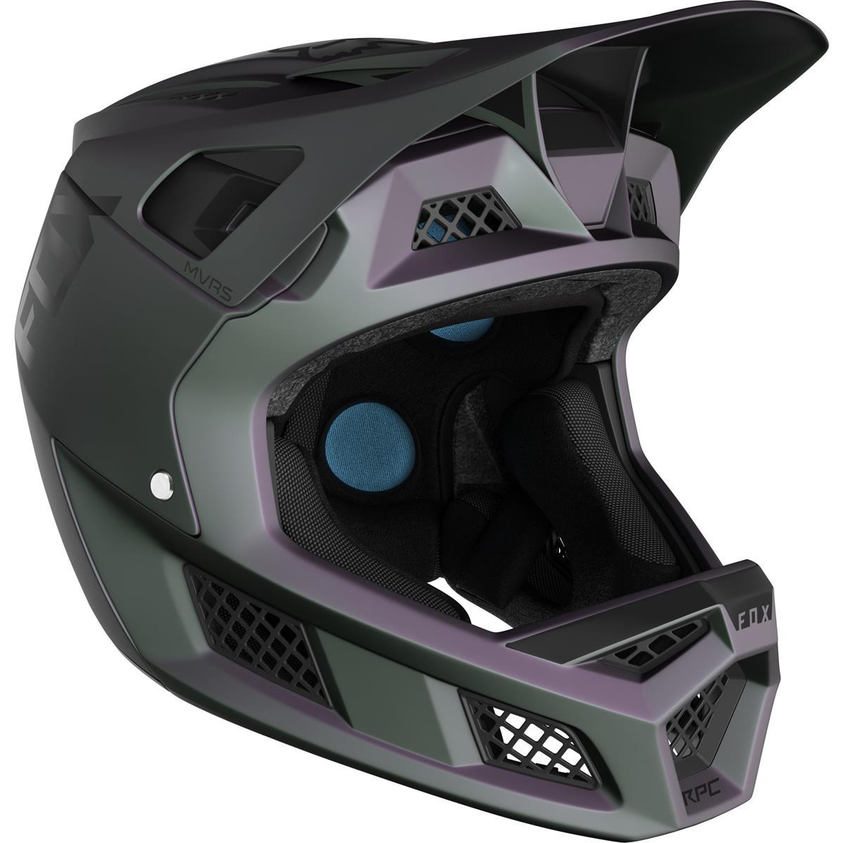 Fox Downhill-MTB Helm Rampage Pro Carbon Black Iridium