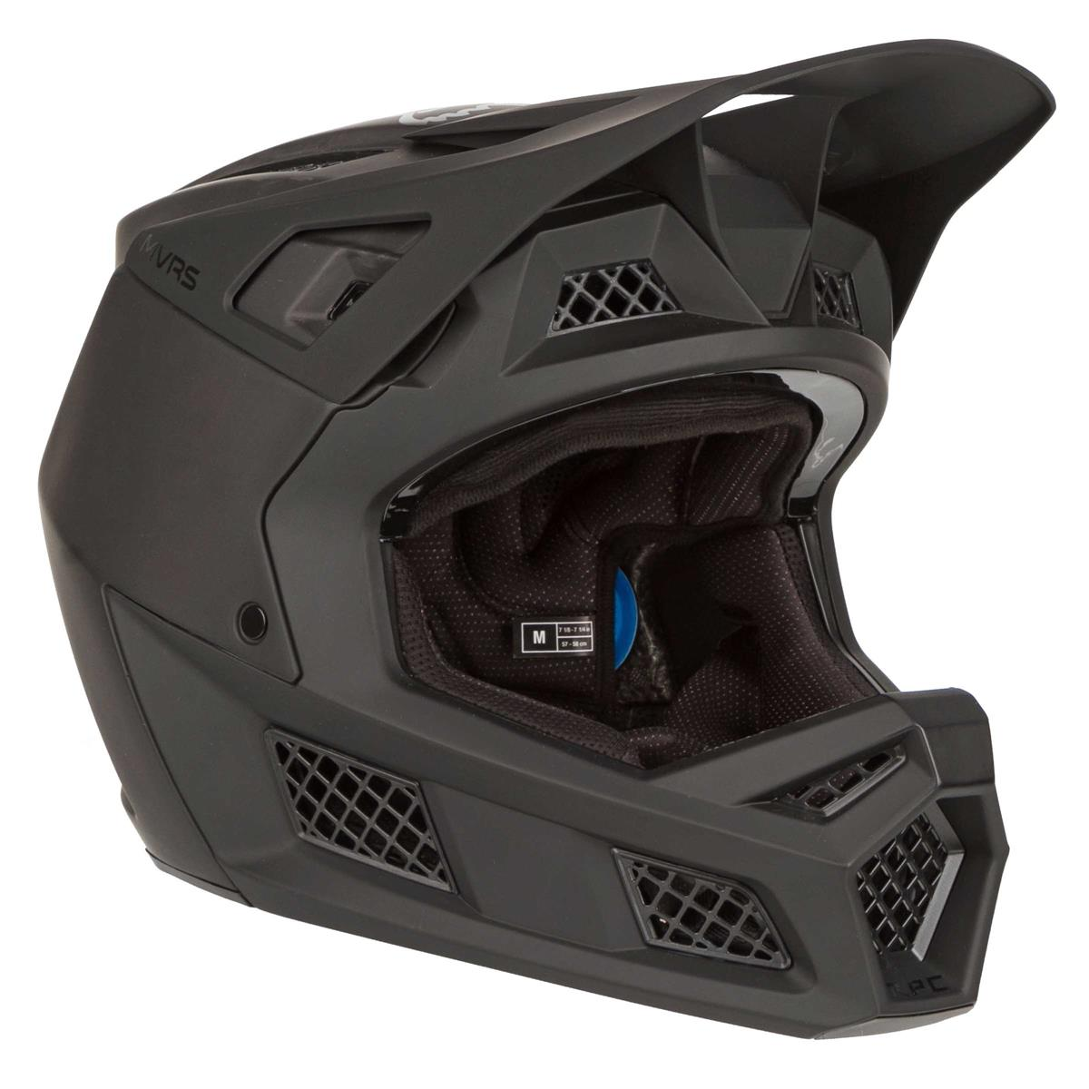 Fox Downhill-MTB Helm Rampage Pro Carbon Matt Schwarz