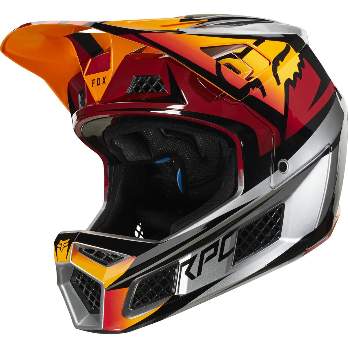 Fox Downhill-MTB Helm Rampage Pro Carbon Ice
