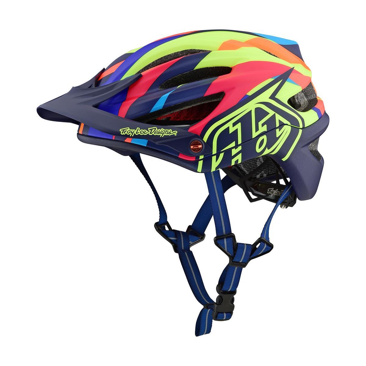 Troy Lee Designs Enduro-MTB Helm A2 MIPS Jet - Gelb