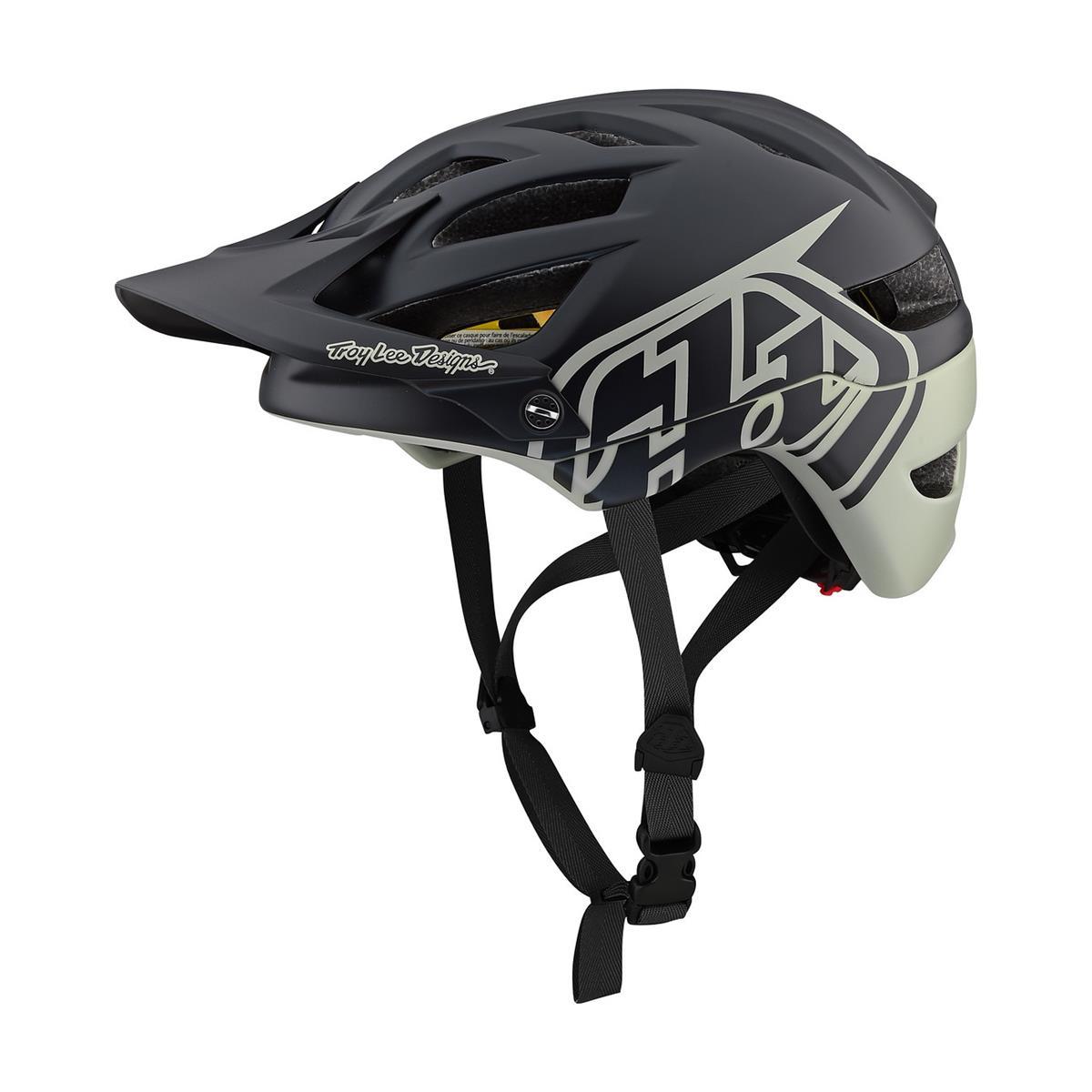 Troy Lee Designs Enduro-MTB Helm A1 MIPS Classic - Schwarz/Stone