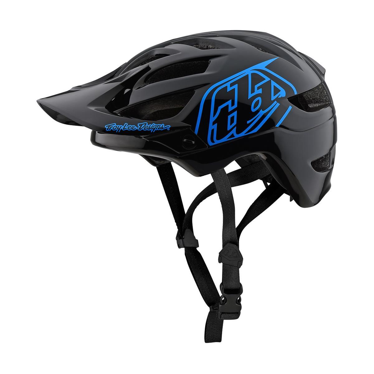Troy Lee Designs Kids Enduro MTB Helmet A1 MIPS Drone - Black/Blue