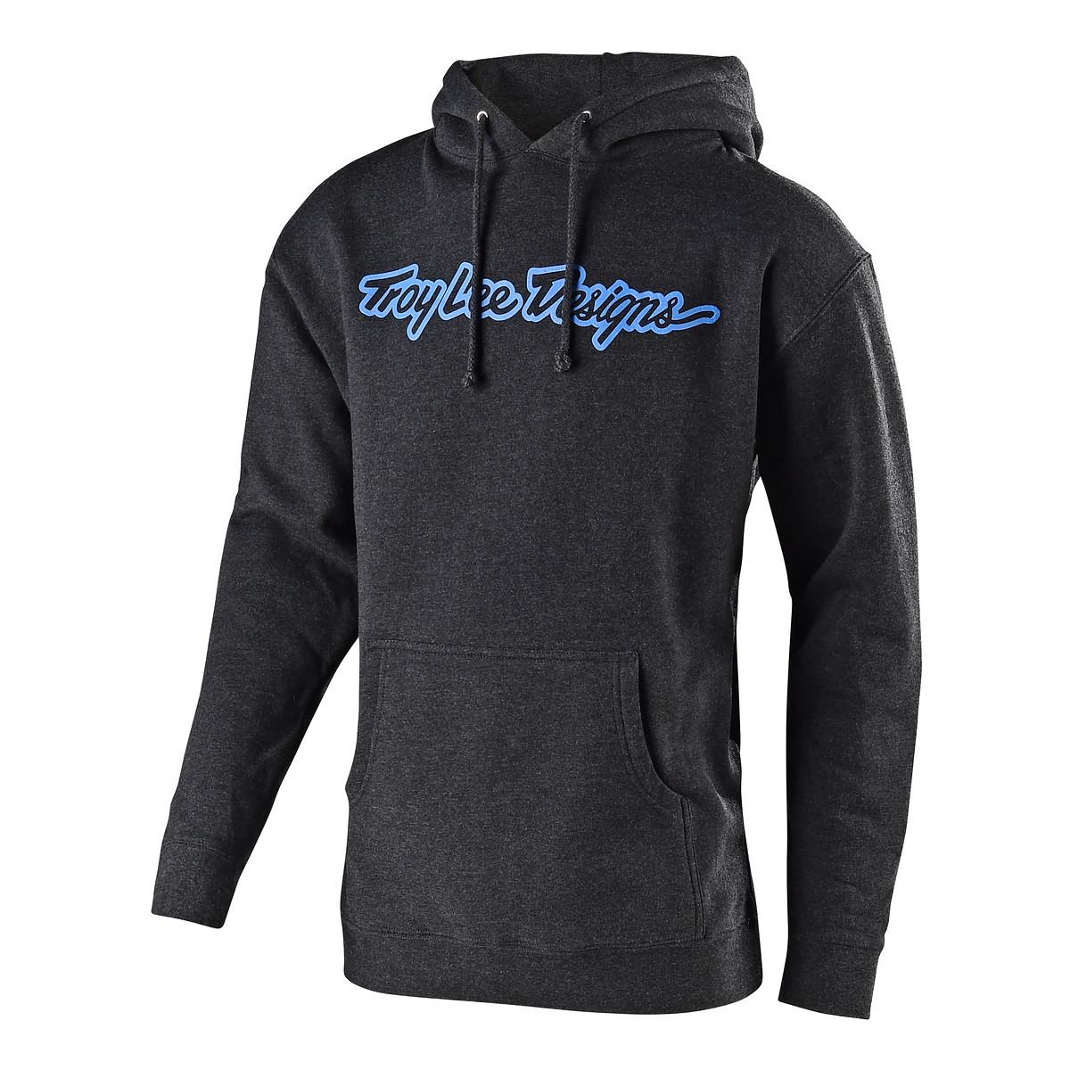 Troy Lee Designs Hoody Signature Charcoal Heather