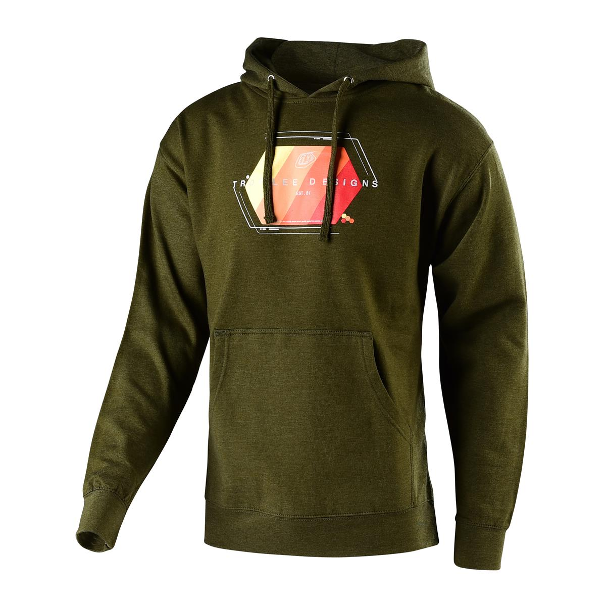 Troy Lee Designs Hoody Technical Fade Army Heather
