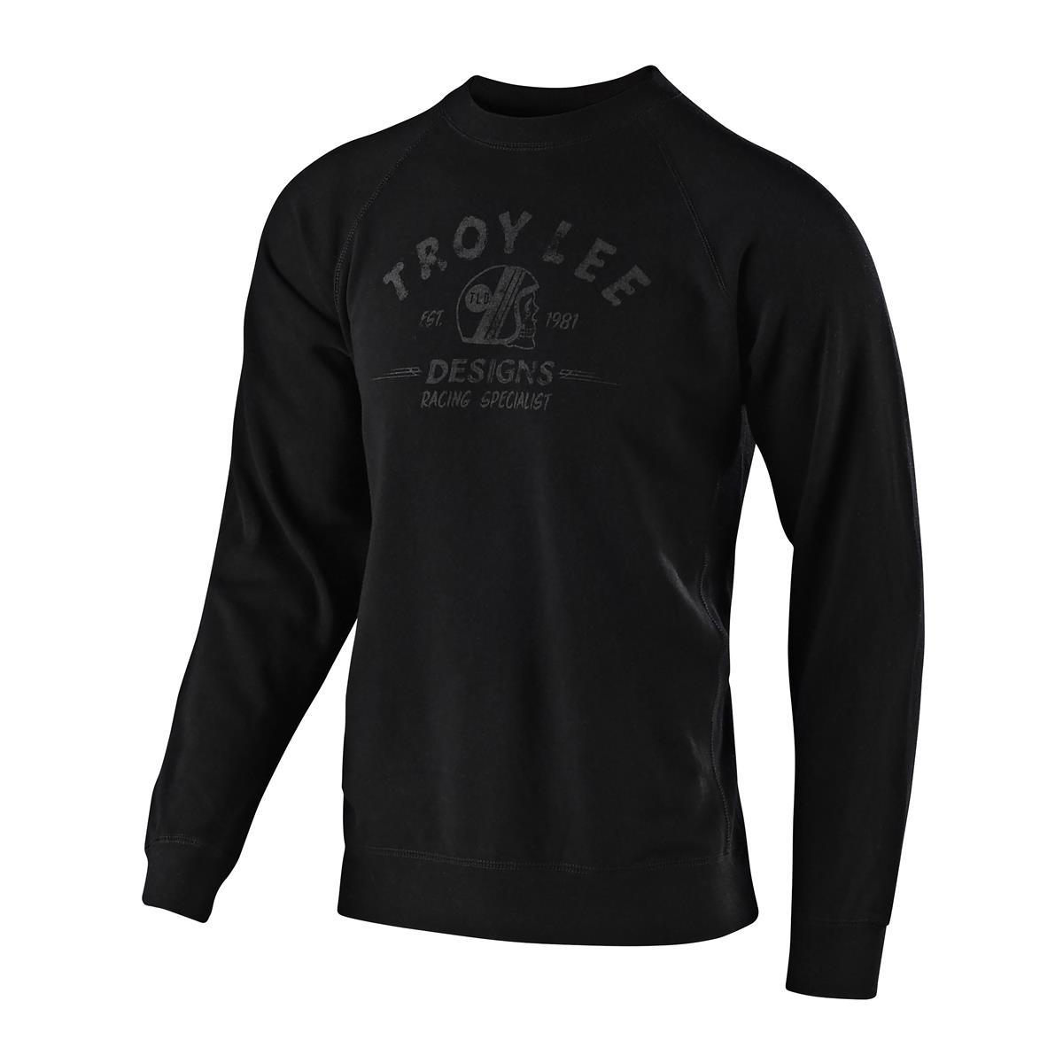 Troy Lee Designs Pullover Racing Specialist Crew Schwarz