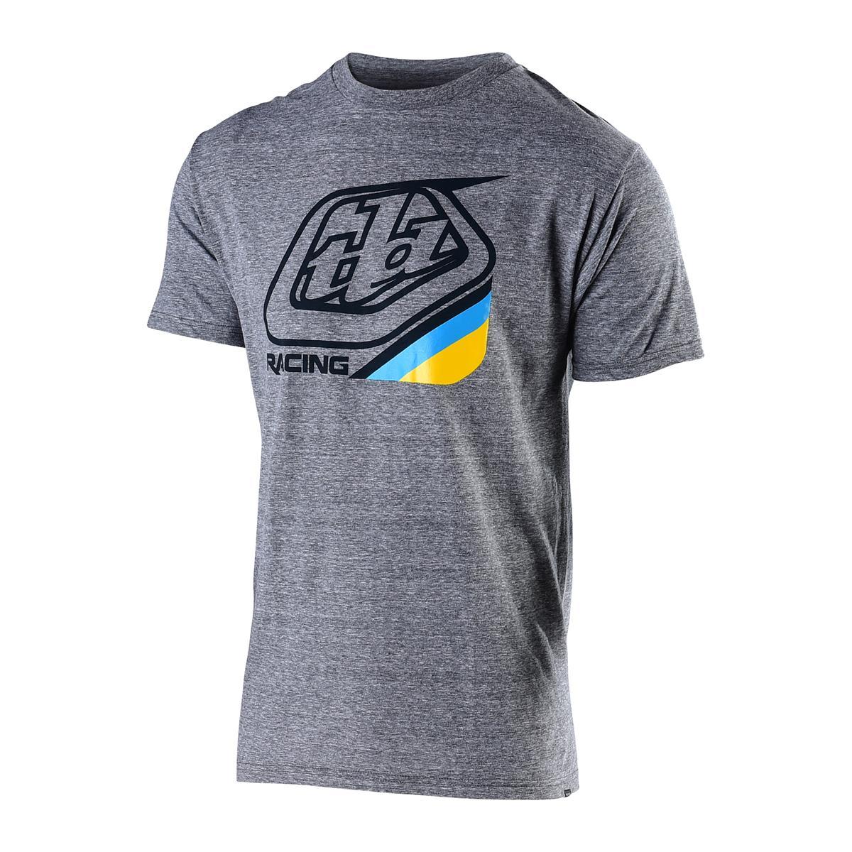 Troy Lee Designs T-Shirt Precision 2.0 Vintage Grey Snow