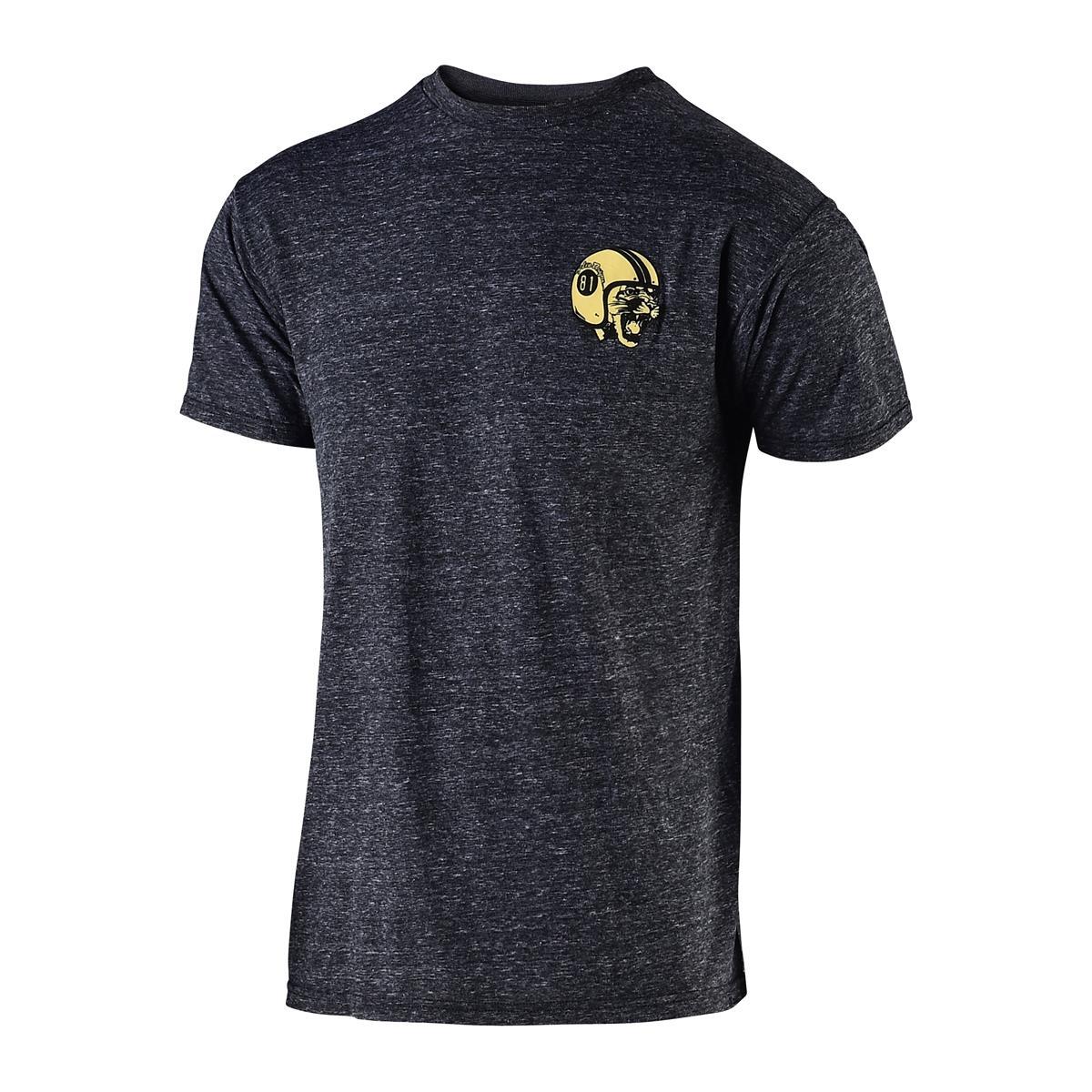 Troy Lee Designs T-Shirt Mad Kitty Onyx Snow