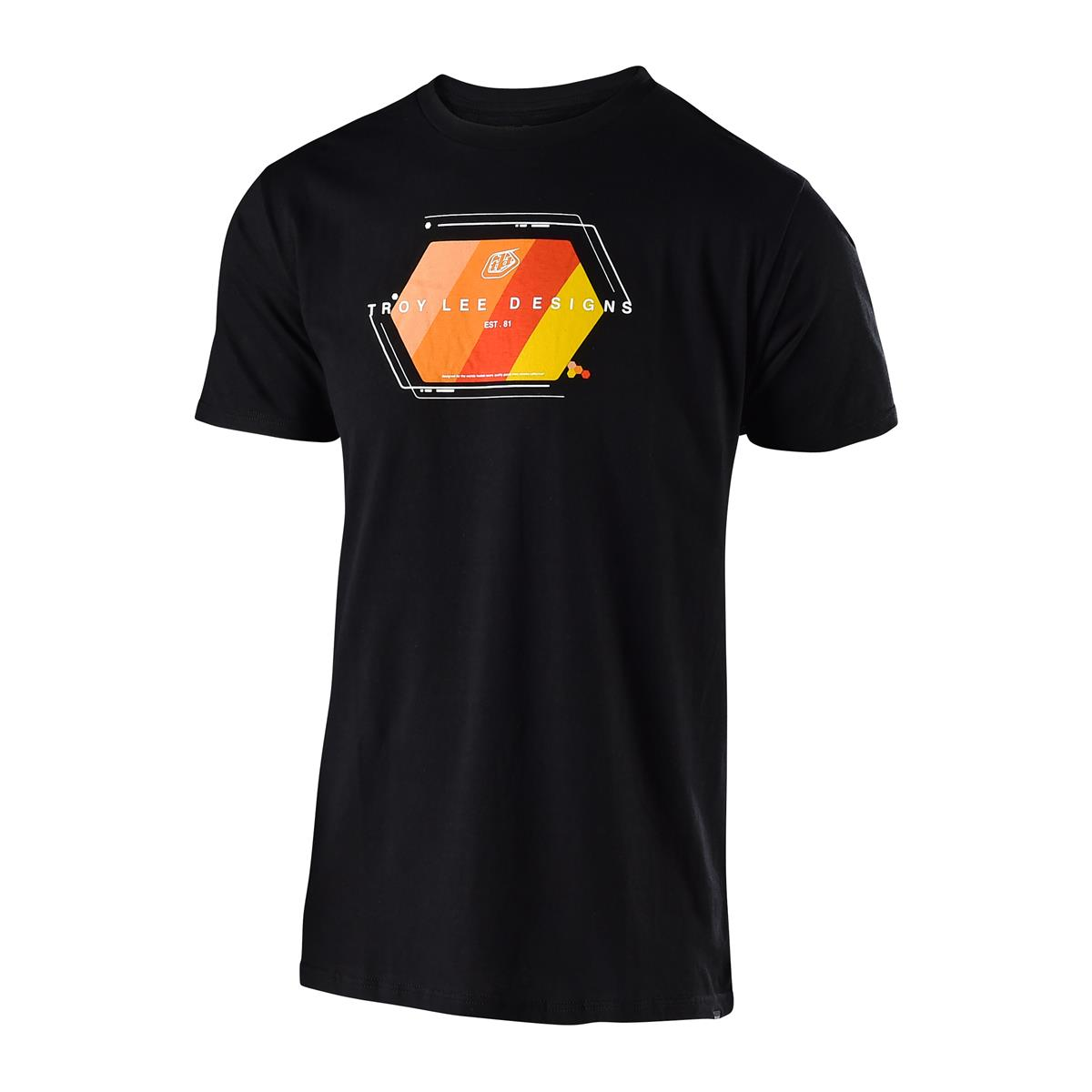 Troy Lee Designs T-Shirt Technical Fade Schwarz