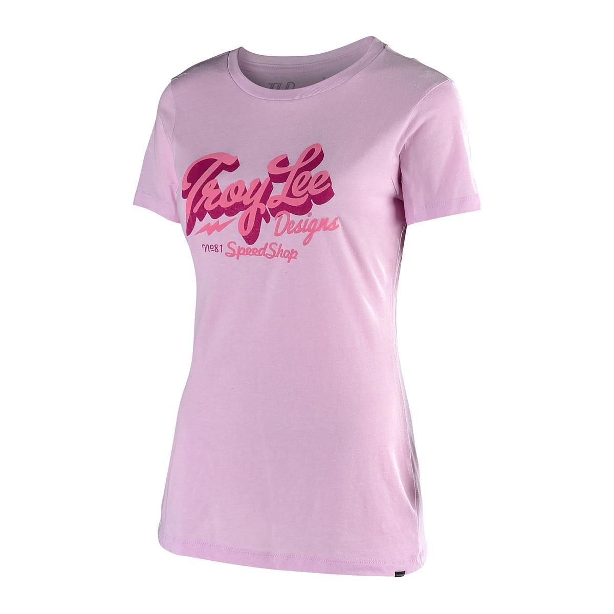 Troy Lee Designs Girls T-Shirt Vintage Speed Shop Lilac