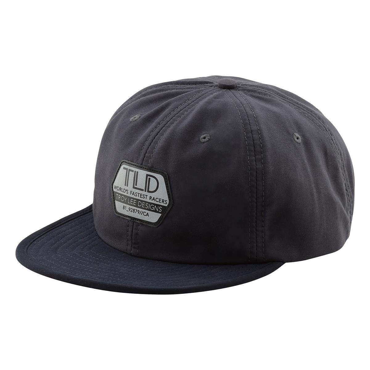 Troy Lee Designs Snapback Cap Reflective Factory Pewter