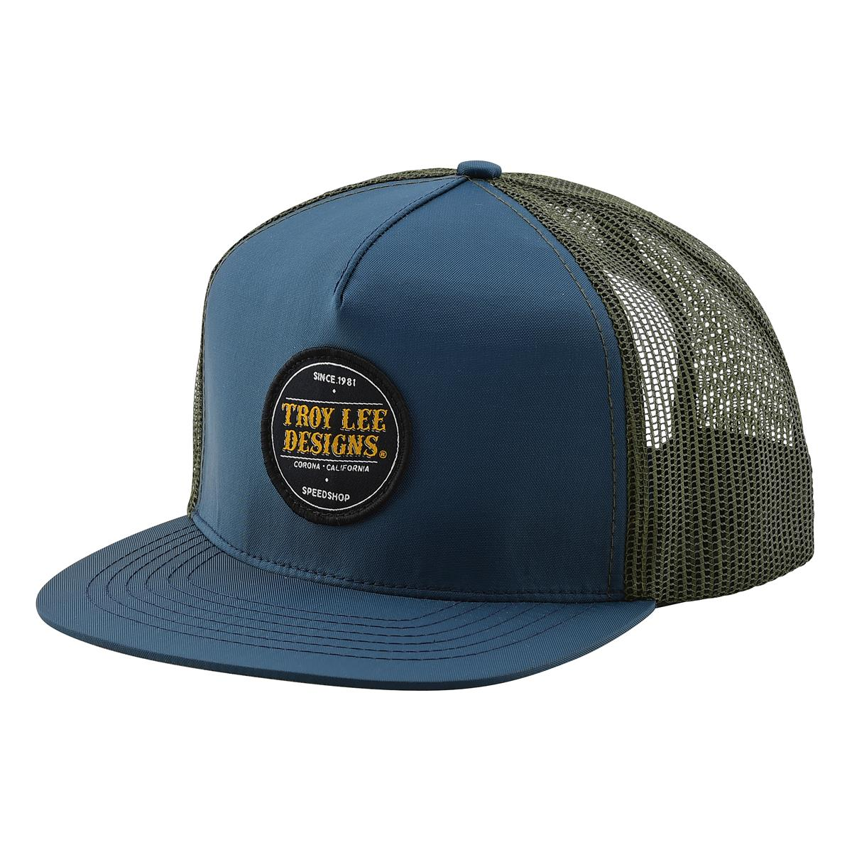 Troy Lee Designs Snapback Cap Beer Head Navy