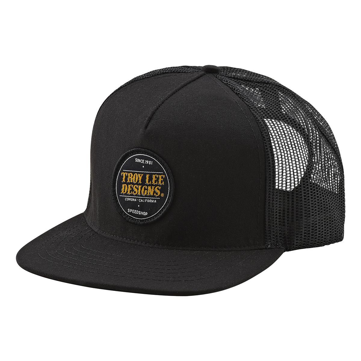 Troy Lee Designs Snapback Cap Beer Head Schwarz