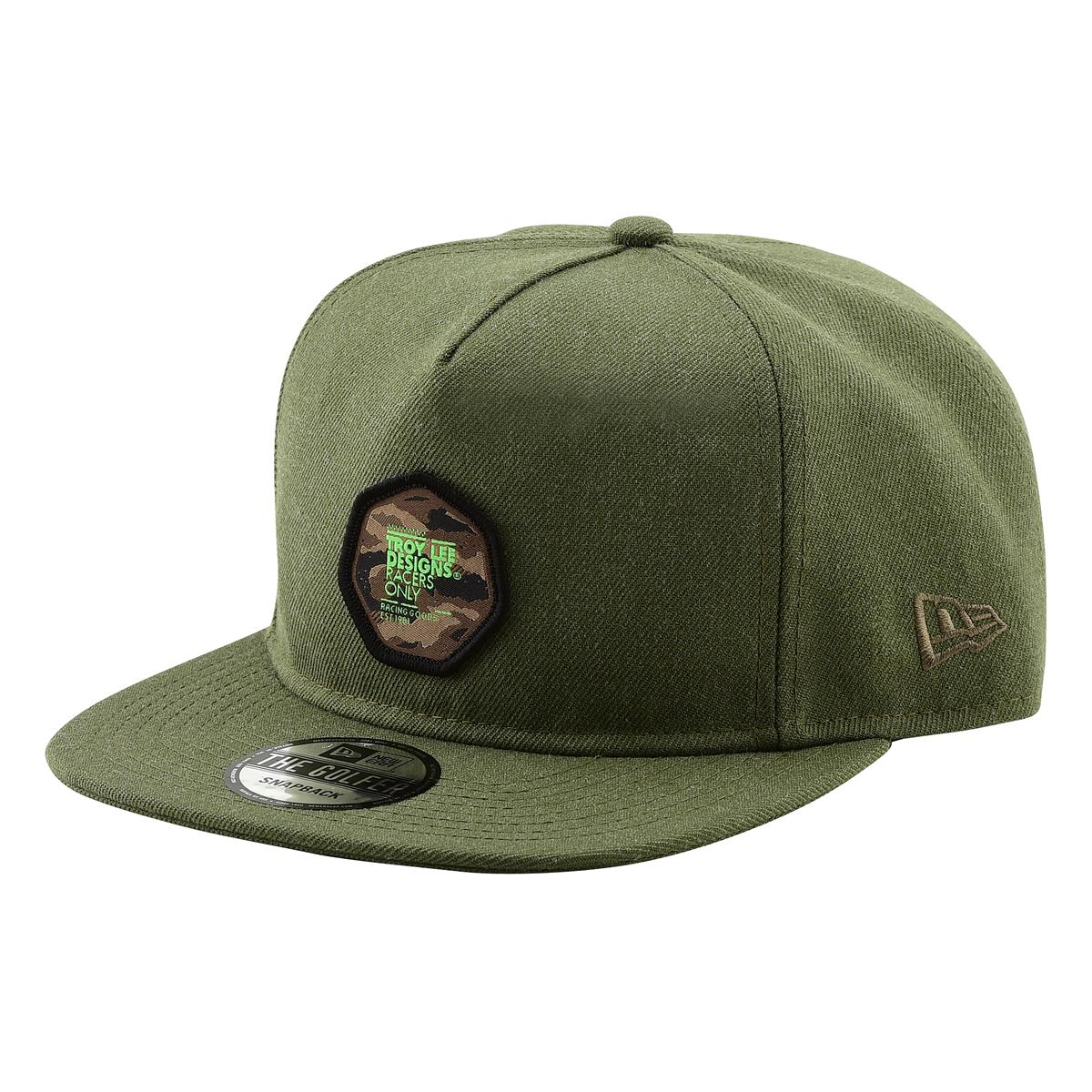 Troy Lee Designs Snapback Cap Race Camo Heather Army