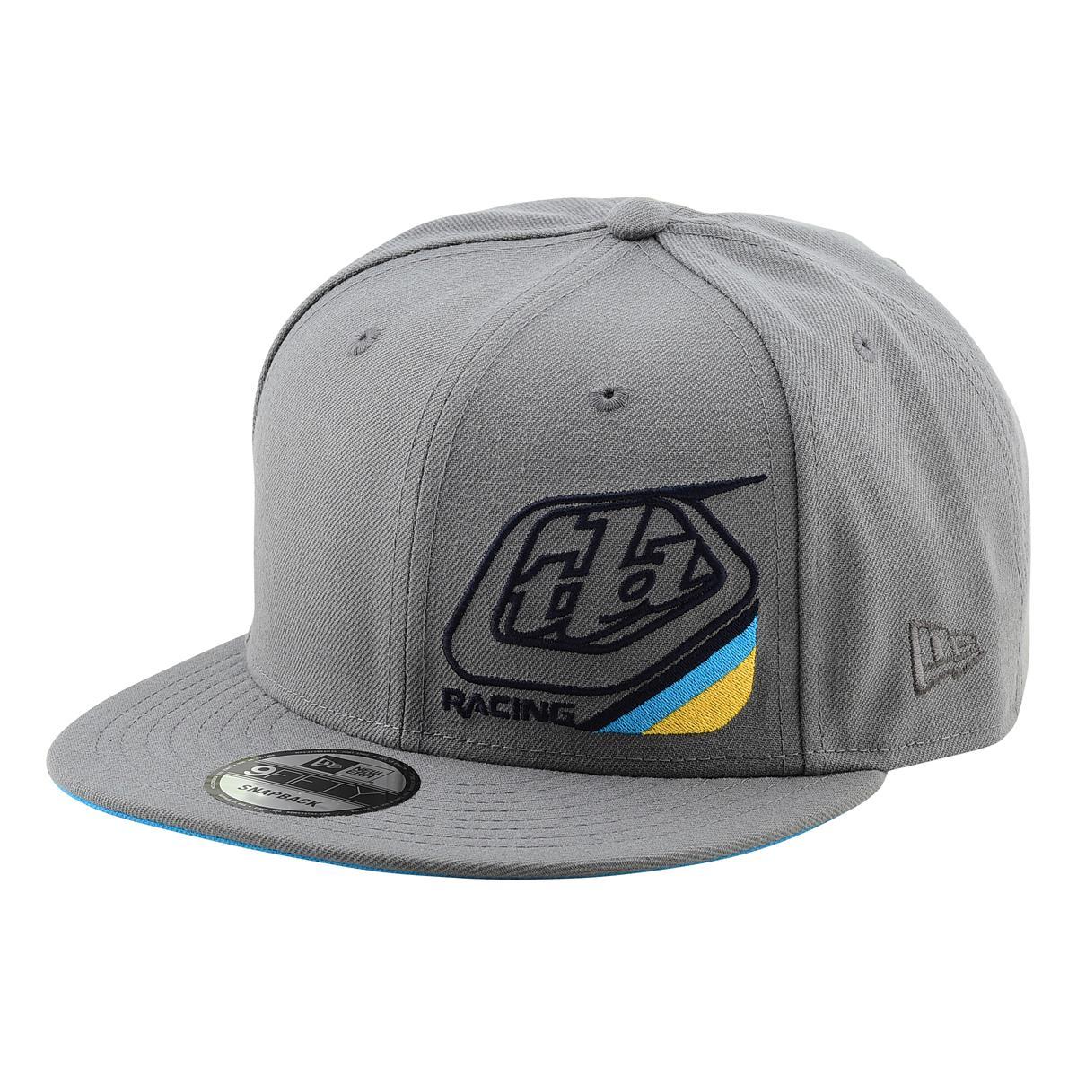 Troy Lee Designs Snapback Cap Precision 2.0 Storm Gray