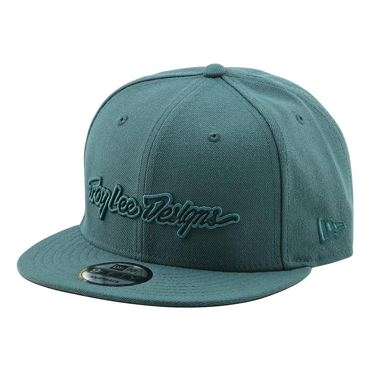 Troy Lee Designs Snapback Cap Classic Signature Pine Needle Green