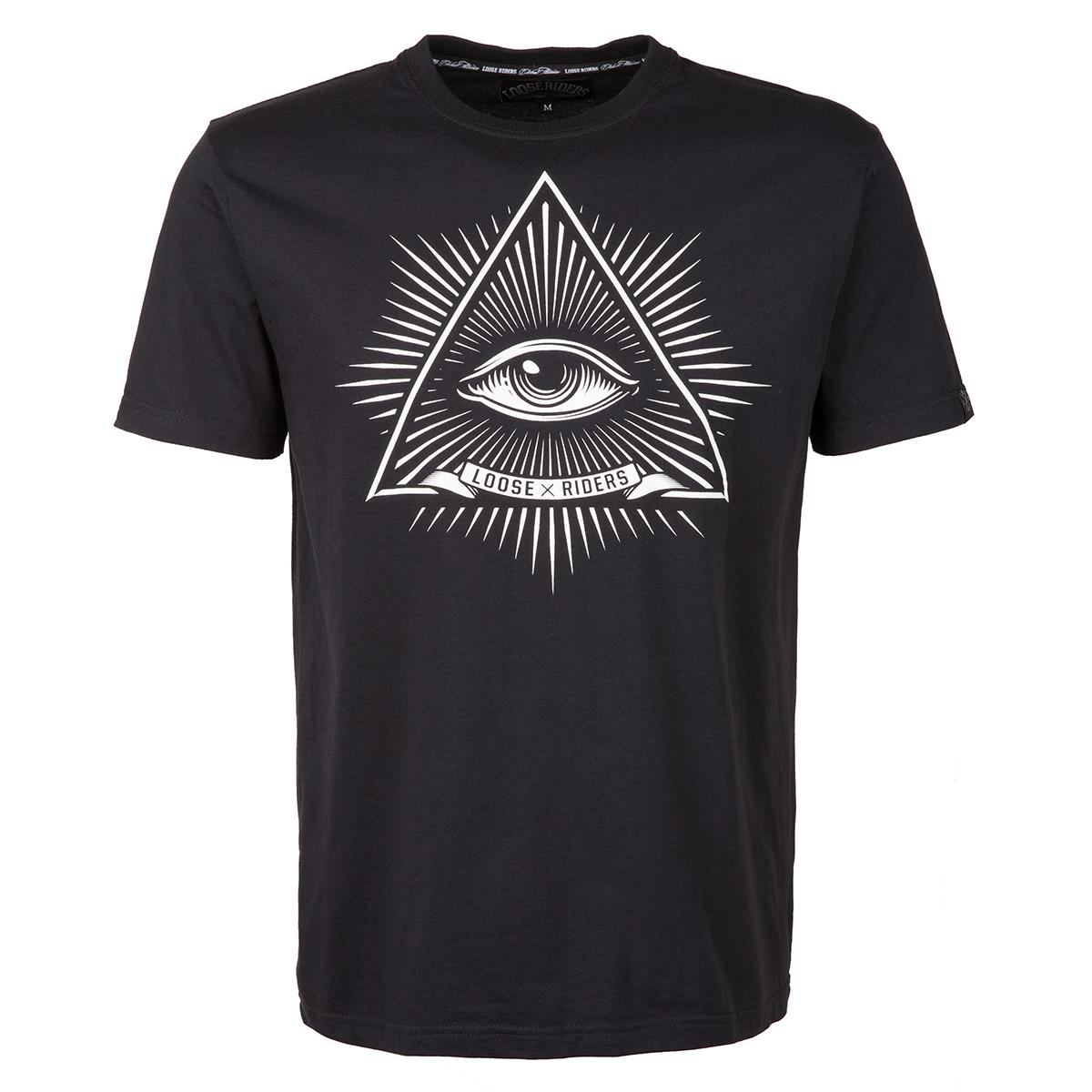 Loose Riders T-Shirt Third Eye Schwarz