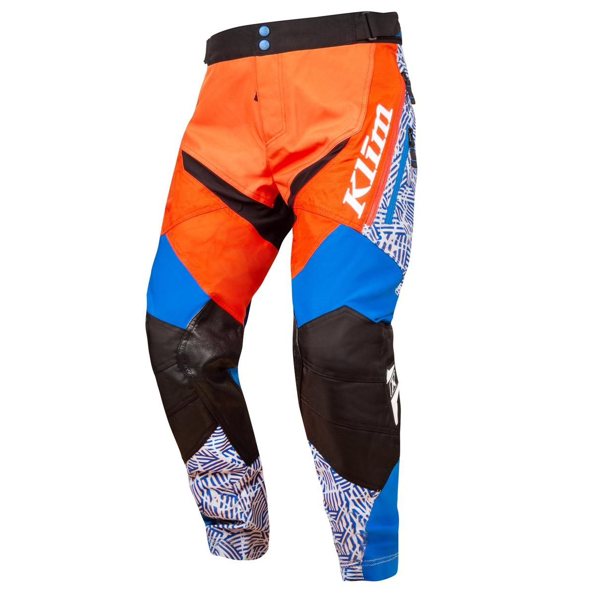 Klim Cross Hose Dakar Orange/Blau