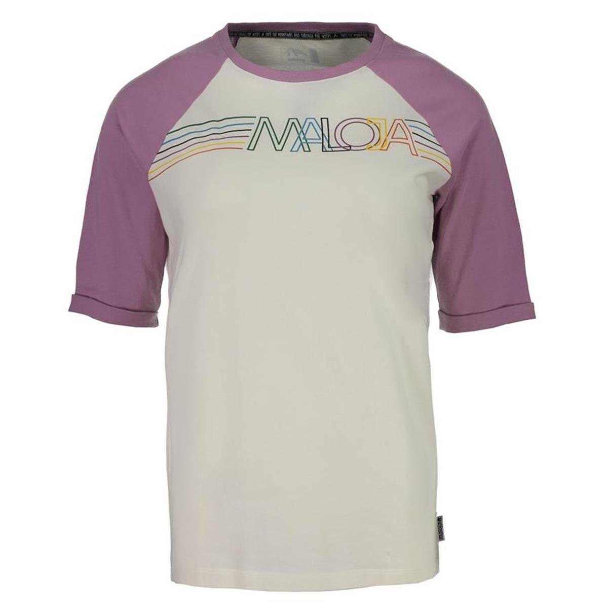 Maloja Girls 3/4-Arm Shirt FuschignaM. Bellflower