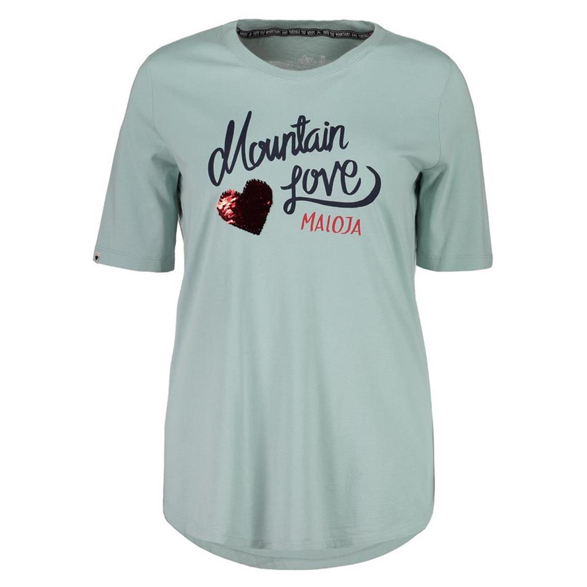 Maloja Girls T-Shirt CasacciaM. Cliff