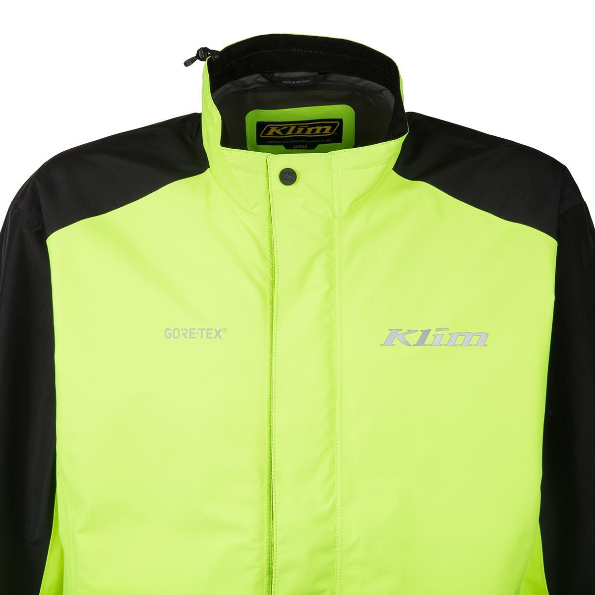 e98157db9 Klim Jacket Forecast Yellow/Black