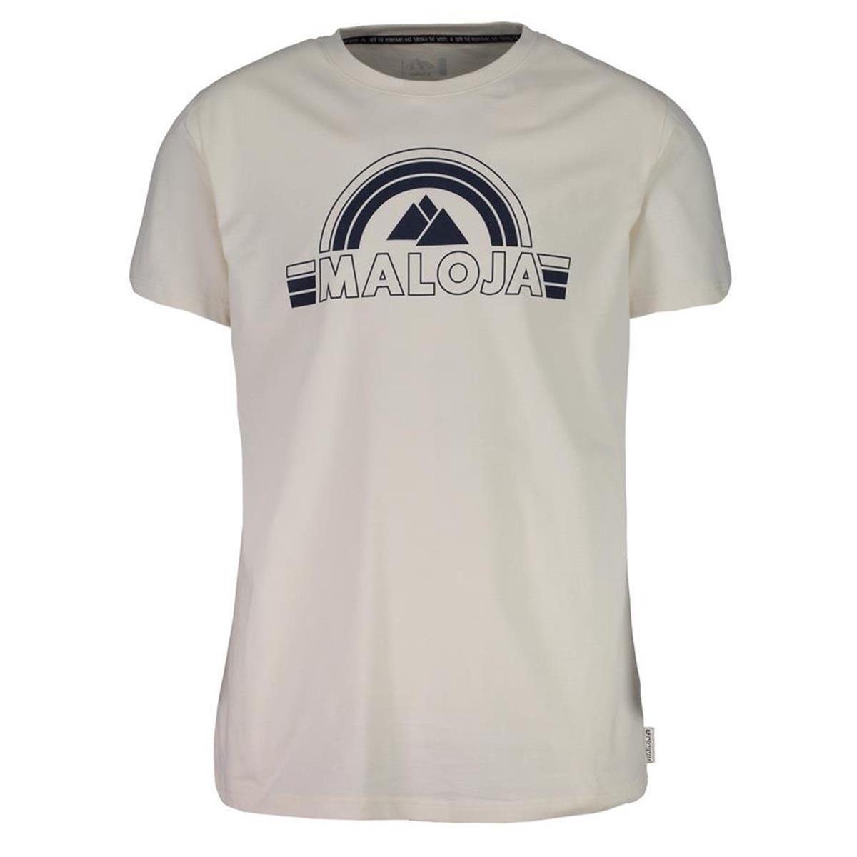 Maloja T-Shirt SparselsM. Vintage White