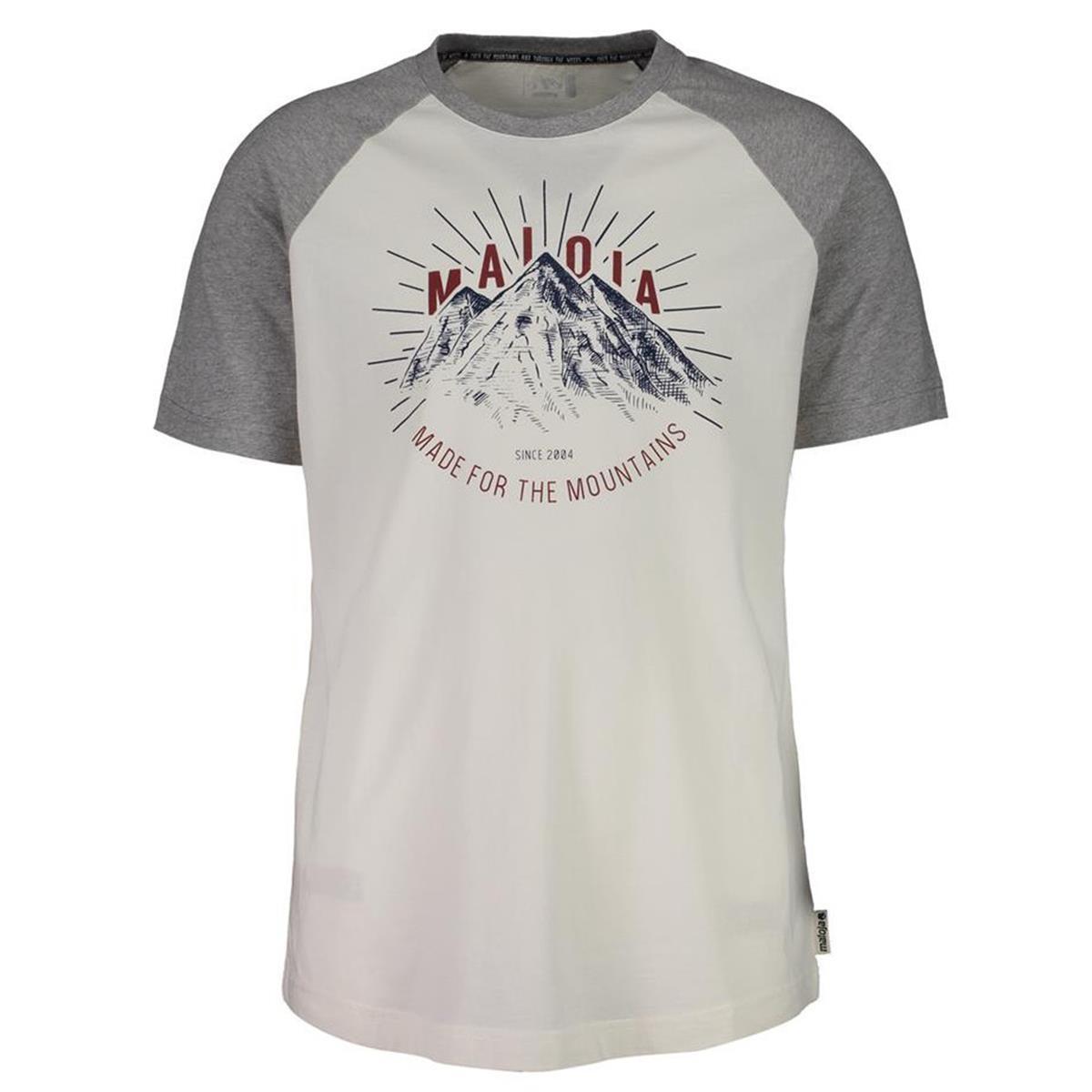 Maloja T-Shirt PiazettM. Grey Melange