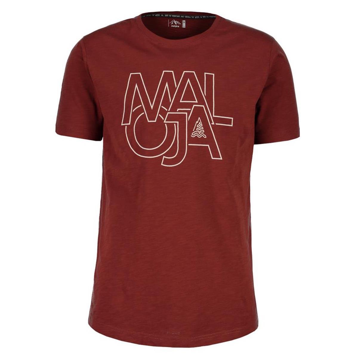 Maloja T-Shirt ArchasM. Maroon