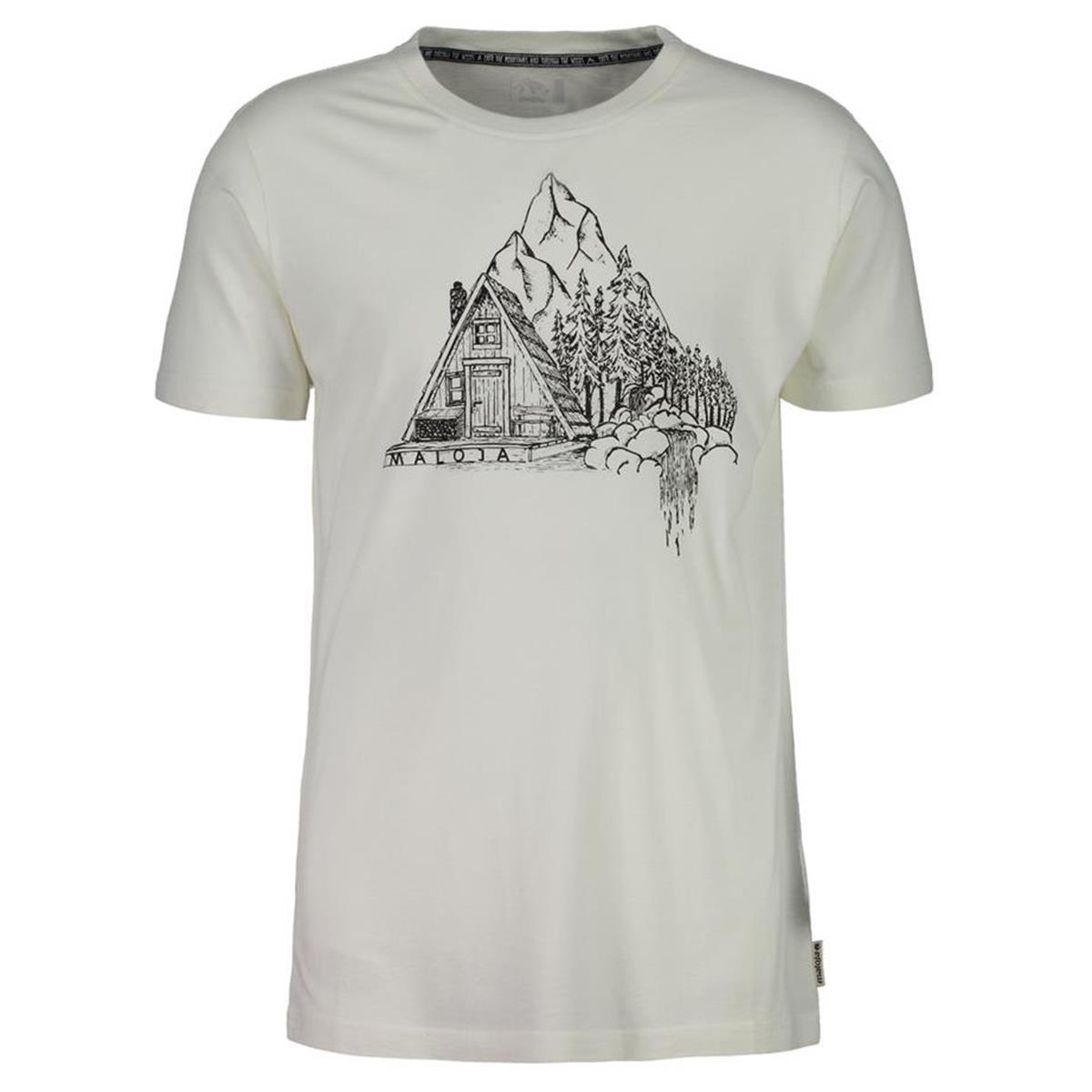 Maloja T-Shirt TarsousM. Vintage White