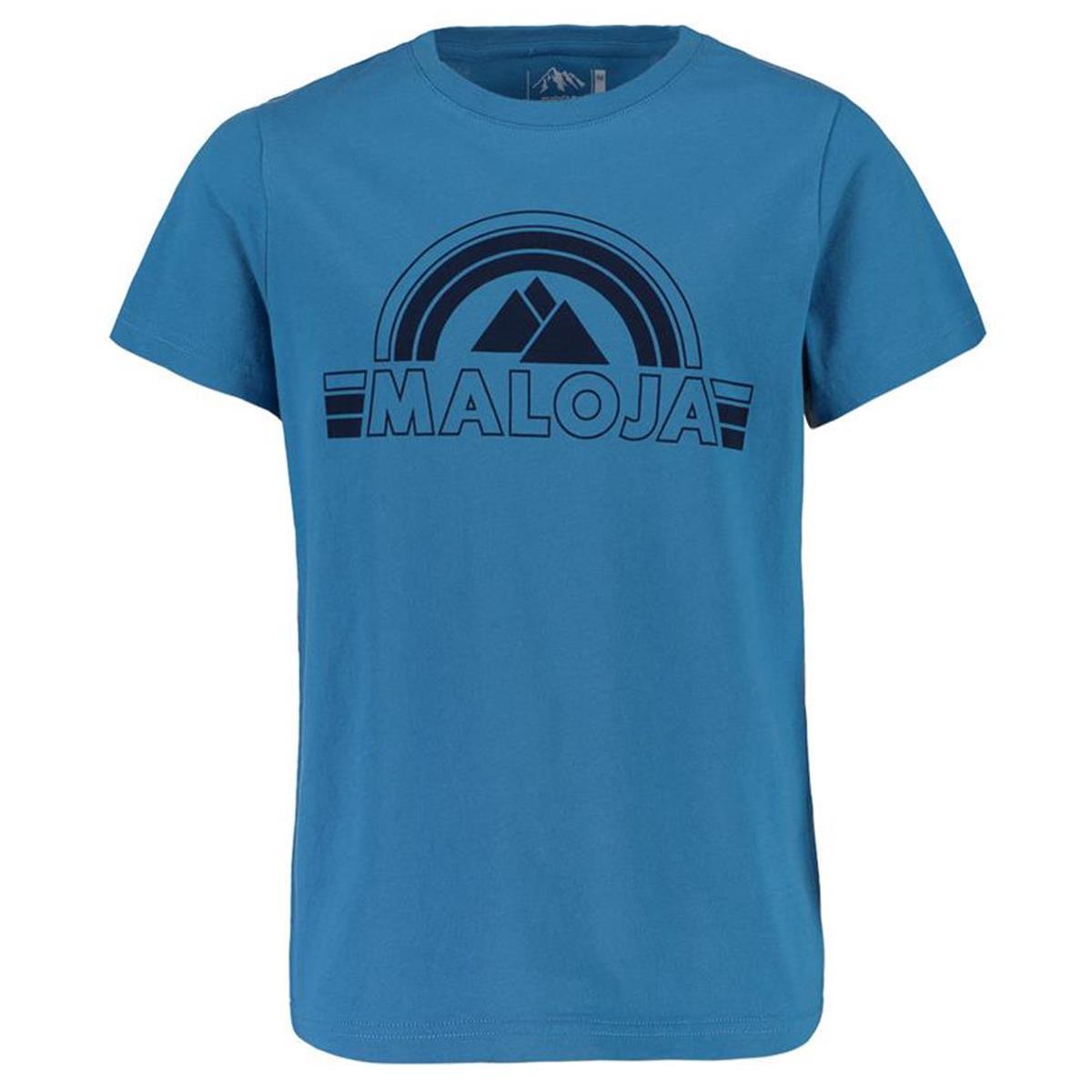 Maloja Kids T-Shirt GustinB. river