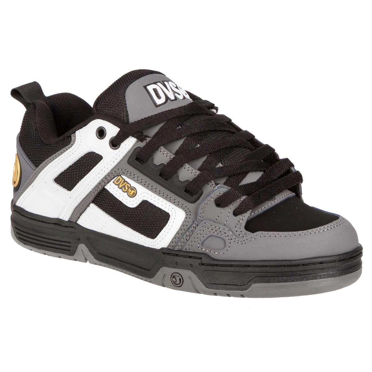 DVS Schuhe Comanche Weiß/Charcoal Nubuk