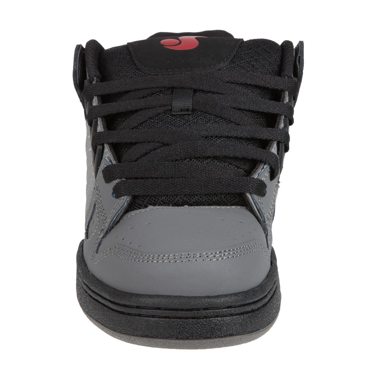 DVS Schuhe Celsius CharcoalGrauSchwarz Nubuk
