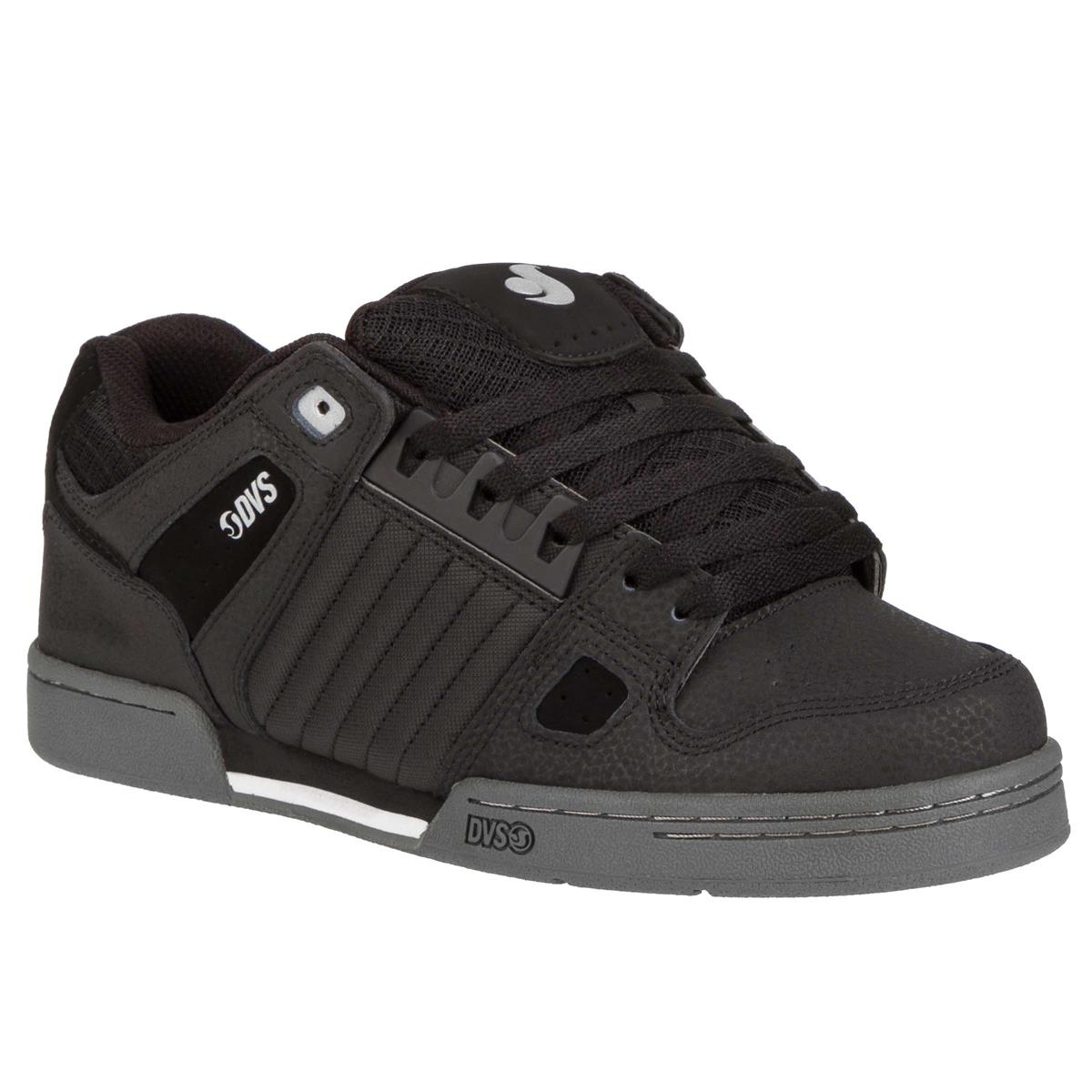 DVS Schuhe Celsius Schwarz/Charcoal/Weiß Nubuk