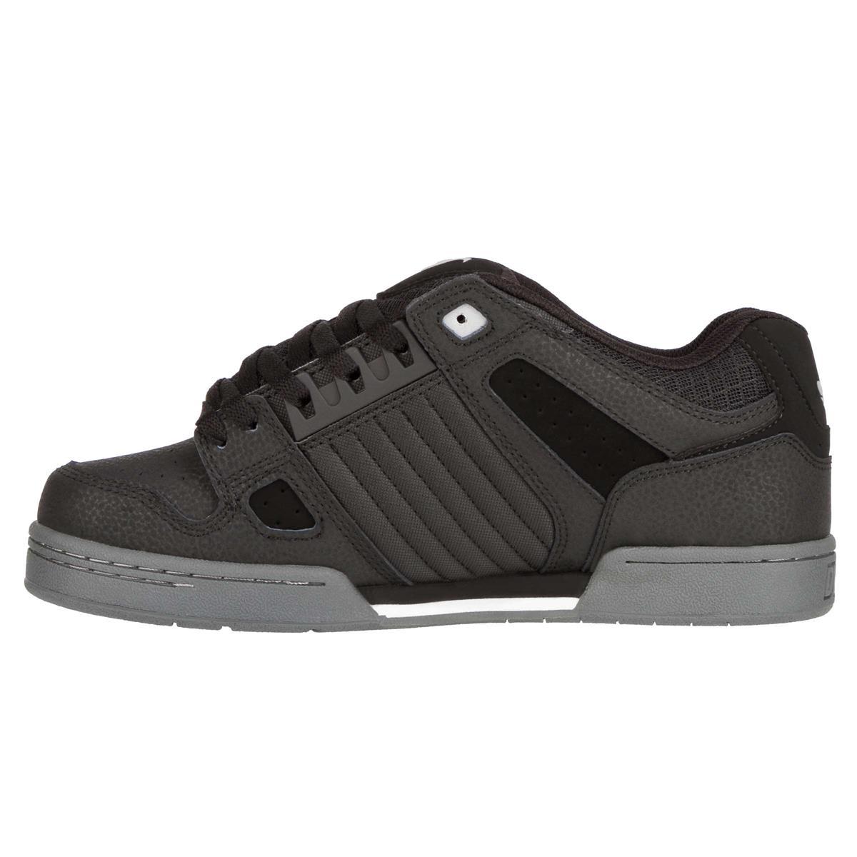 DVS Schuhe Celsius SchwarzCharcoalWeiß Nubuk