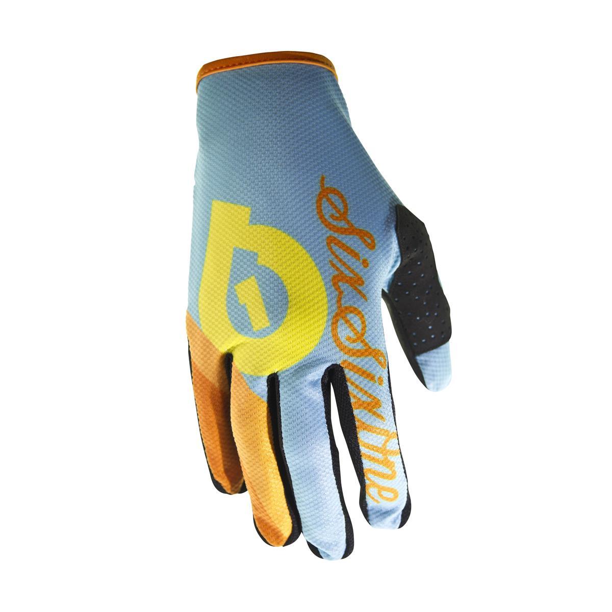 SixSixOne Bike-Handschuhe Comp Blue Sherbet