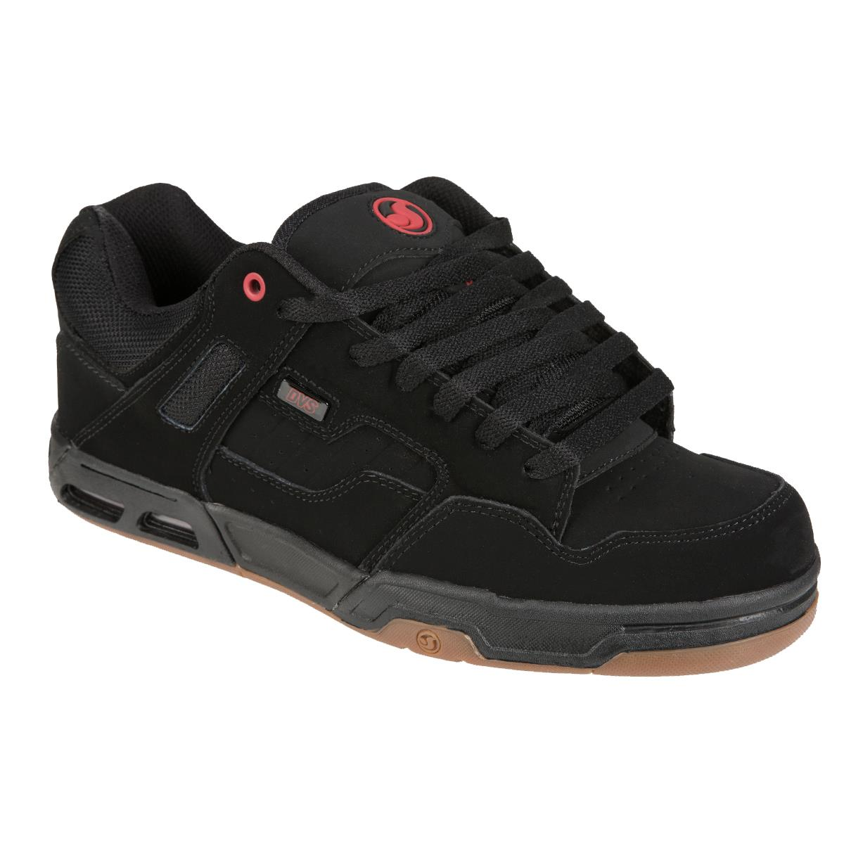 DVS Schuhe Enduro Heir Schwarz/Rot Gum Nubuk