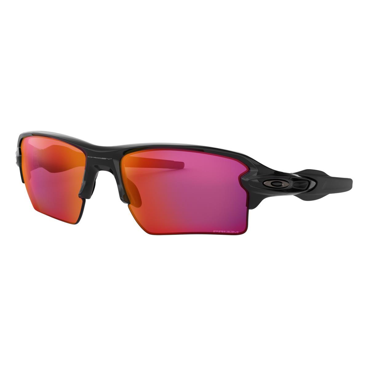 Oakley Sportbrille Flak 2.0 XL Polished Schwarz - Prizm Field