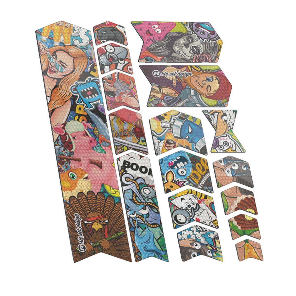 Riesel Design Rahmenschutz-Sticker Tape 3000 Stickerbomb