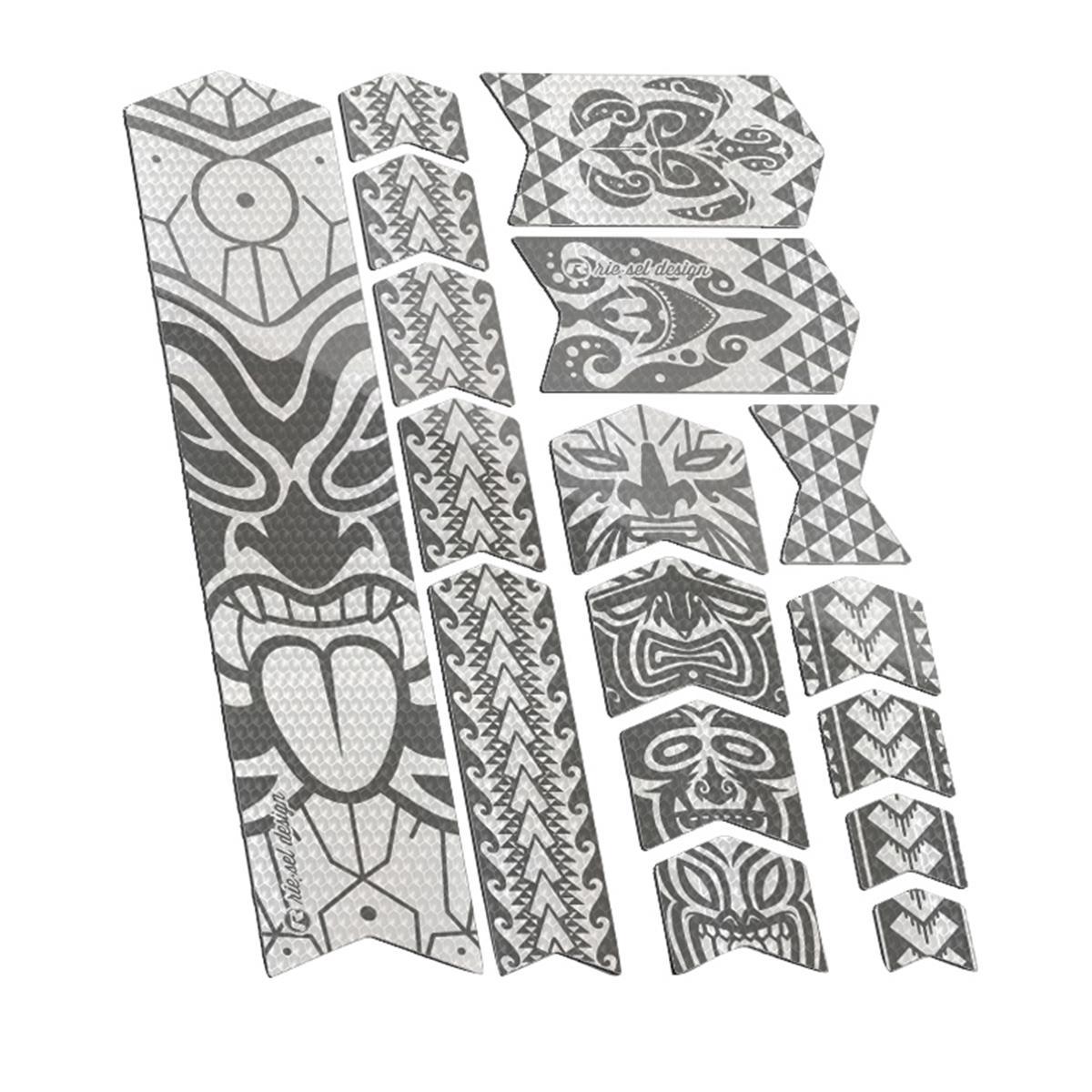 Riesel Design Rahmenschutz-Sticker Tape 3000 Maori