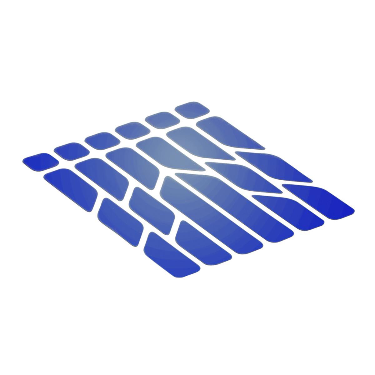 Riesel Design Sticker Reflex Reflektierend, Blau
