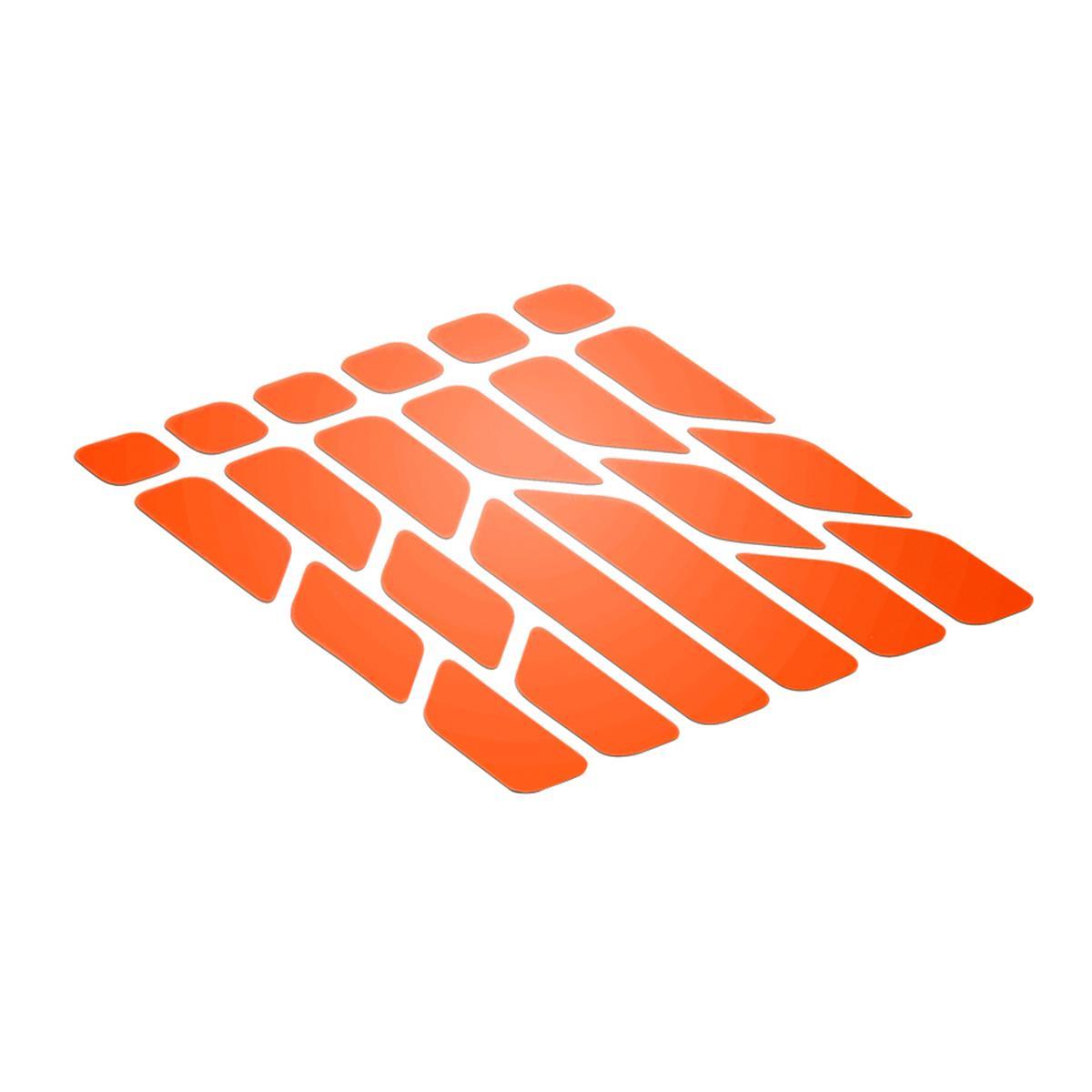 Riesel Design Sticker Reflex Reflektierend, Orange