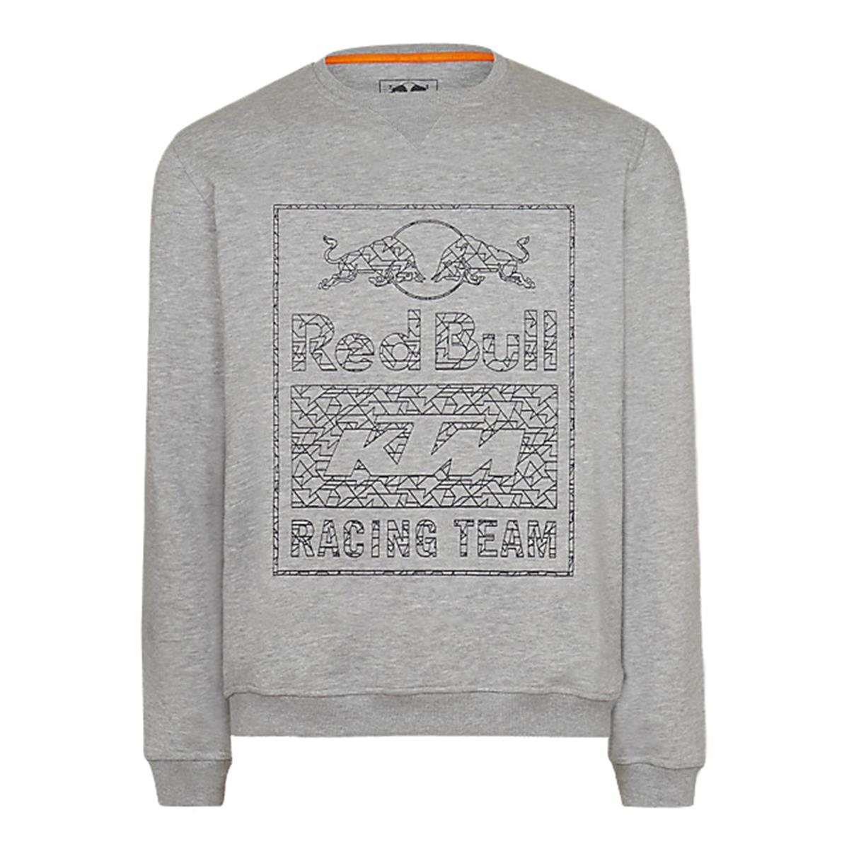 Red Bull Sweatshirt KTM Wireframe Crewn Grau