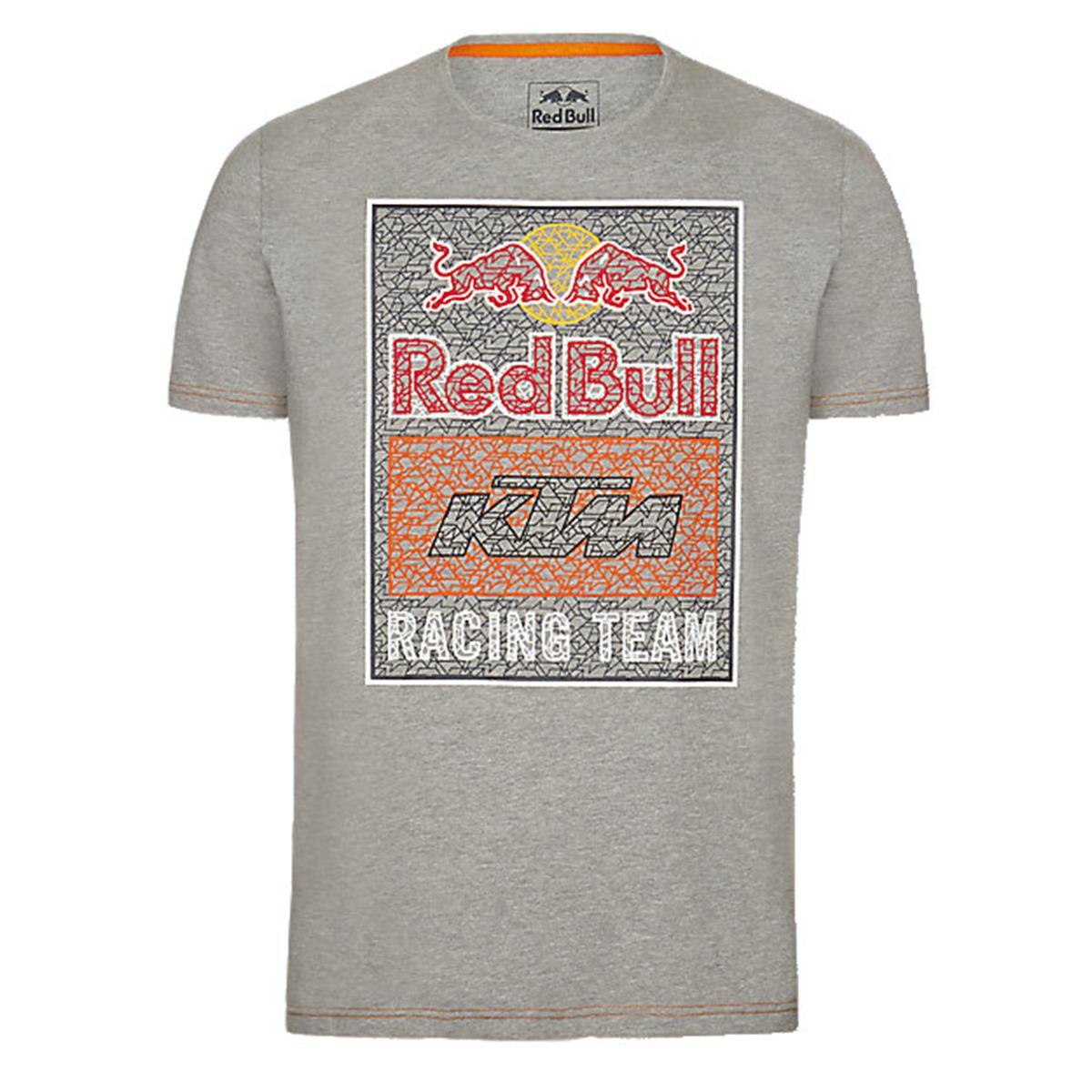 Red Bull T-Shirt KTM Mosaic Graphic Grau