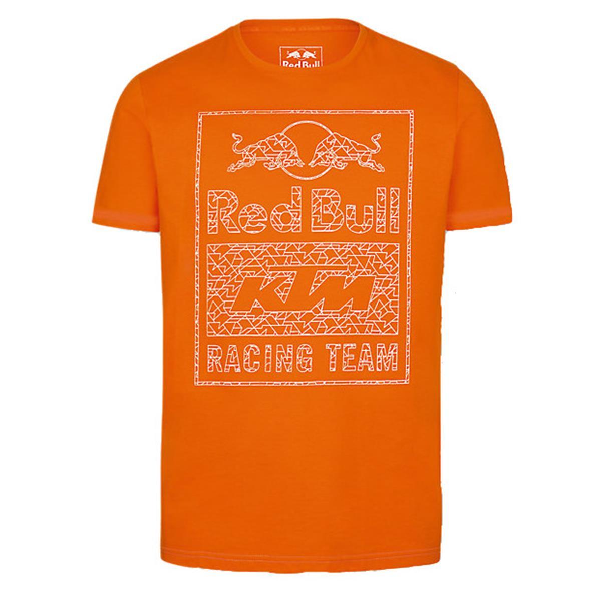 Red Bull T-Shirt KTM Mosaic Graphic Pumpkin