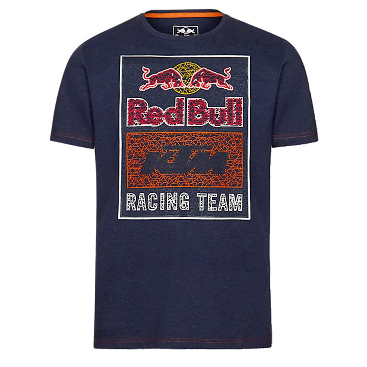 Red Bull T-Shirt KTM Mosaic Graphic Navy