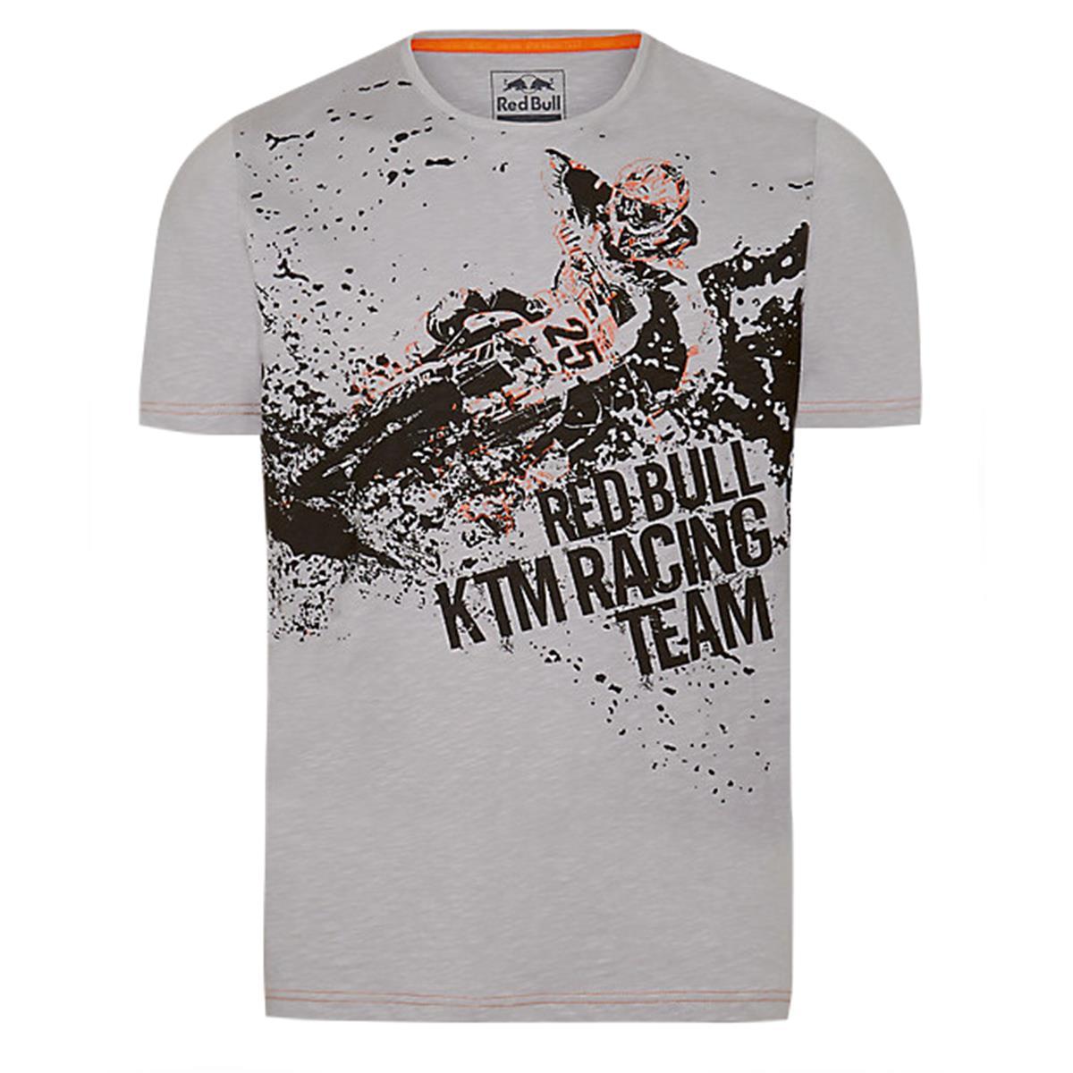 Red Bull T-Shirt KTM MM25 Rider Grau