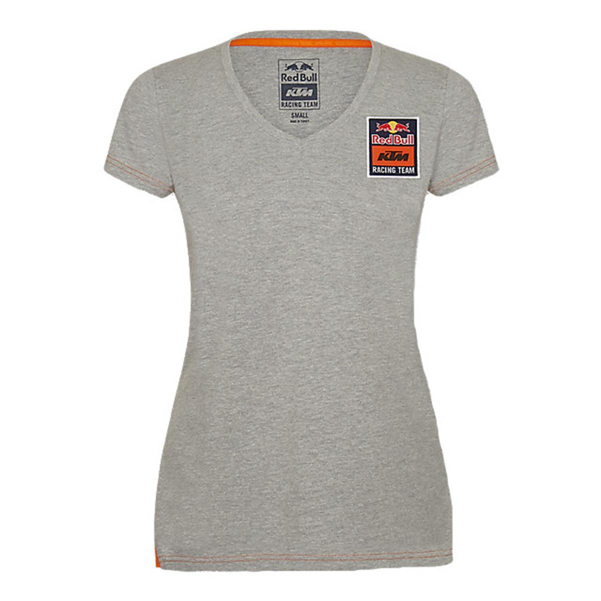 Red Bull Girls T-Shirt KTM Mosaic Grau/Navy
