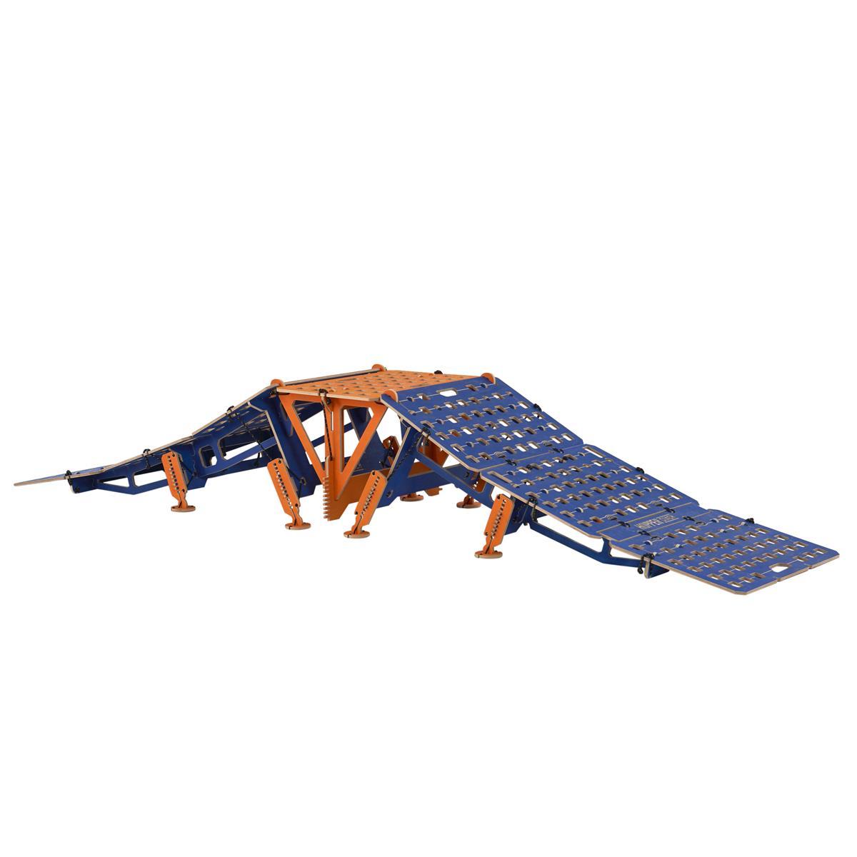 MTB Hopper Rampe Coach Portabel, Holz, 3-Teilig: 2 Rampen + Table